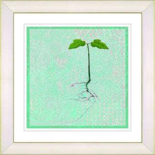 Studio Works Modern '6 Steps Off the Ground - Mint Green' Framed Giclee Print