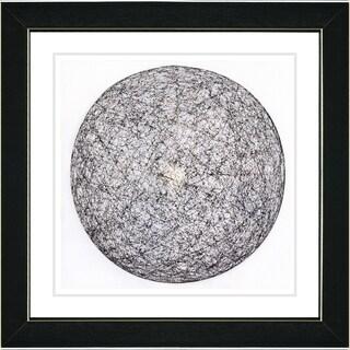 Studio Works Modern 'Sphere of Influence' Framed Giclee Print