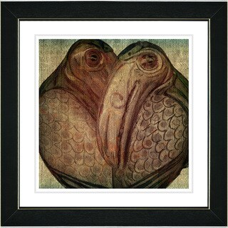 Studio Works Modern 'Birds of a Feather' Framed Print