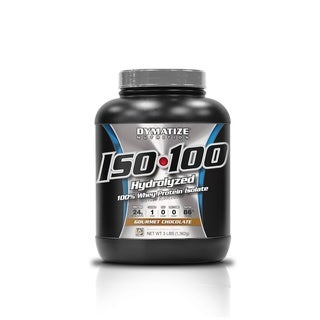 Dymatize ISO-100 Hydrolized Whey Protein Isolate (3 Pounds)