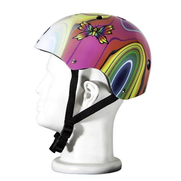 Punisher Skateboards Medium Butterfly Jive 11-vent Skateboard Helmet