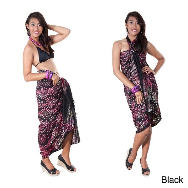 Premium Heavyweight Abstract Sarong (Indonesia)