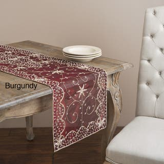 Saro 72-inch Rectangular Beaded Table Runner|https://ak1.ostkcdn.com/images/products/7552141/7552141/Saro-72-inch-Rectangular-Beaded-Table-Runner-P14984618.jpeg?impolicy=medium