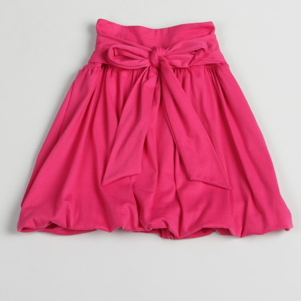 Paulinie Collection Girl's Pink Bubble Skirt