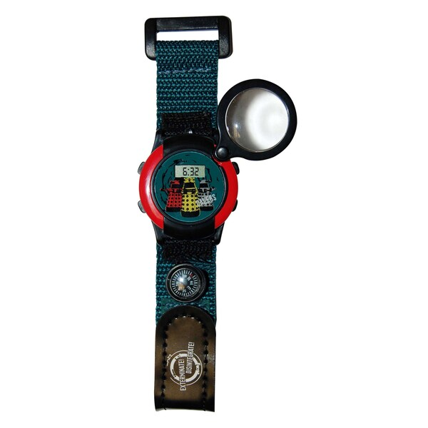 Doctor Who Magnifying Compass Watch