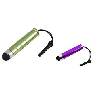 BasAcc Purple/ Green Mini Stylus for Samsung Galaxy S III/ S3