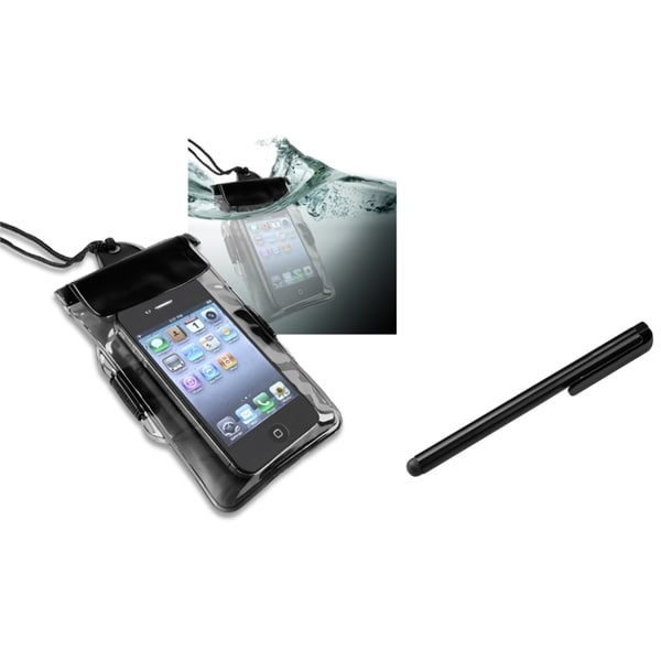 INSTEN Waterproof Bag/ Stylus for BlackBerry 9800/ 9810/ 9900/ 9930
