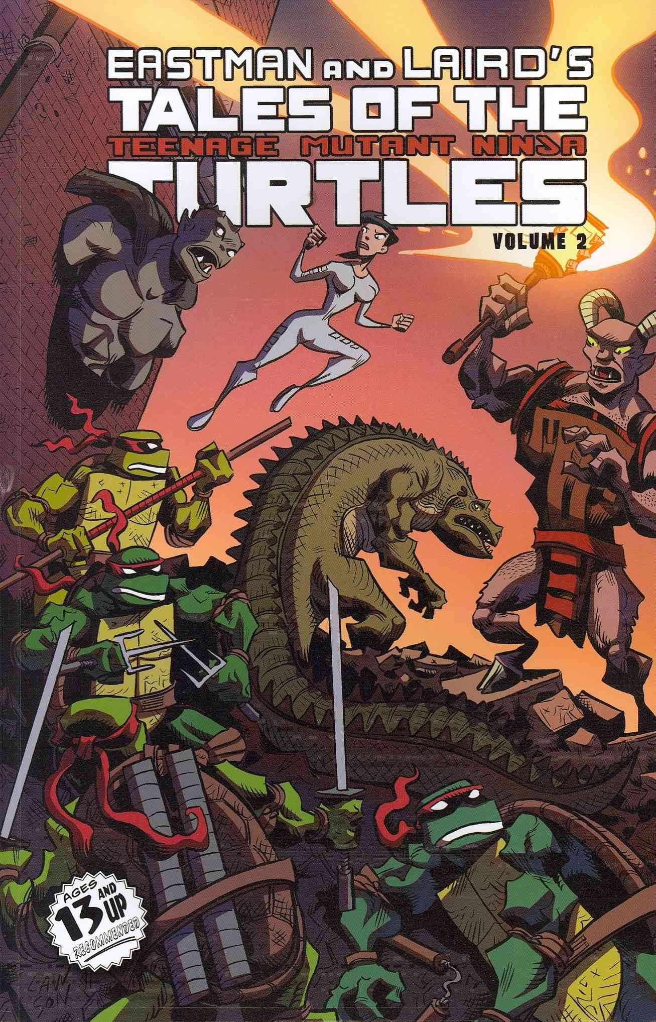 Tales of the Teenage Mutant Ninja Turtles 2 (Paperback)