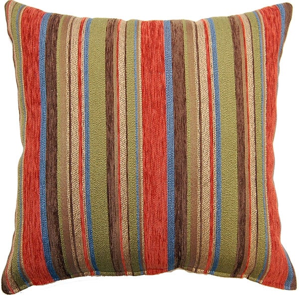Showoff Crayon 17-inch Indoor Pillows (Set of 2)