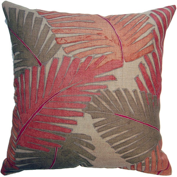 Miami Ginger  17-inch Indoor Pillows (Set of 2)