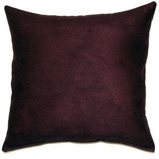 Aspen Aubergine 17-inch Indoor Pillows (Set of 2)