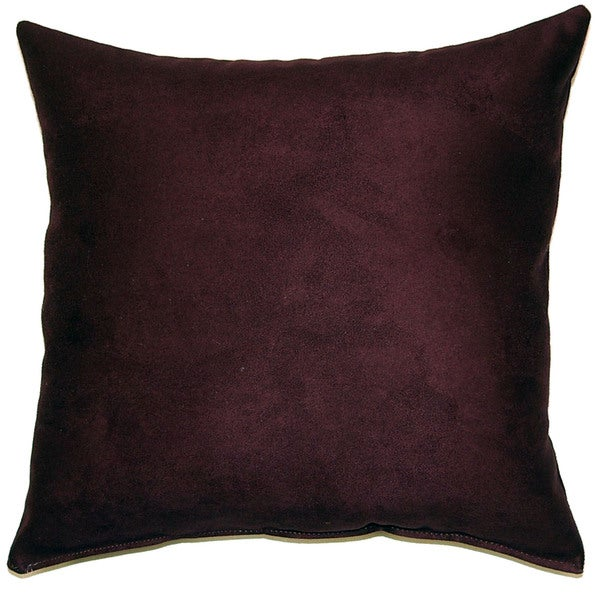 Aspen Aubergine 17-inch Indoor Pillows (Set of 2)