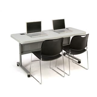 NPS 24 x 60-inch Plastic Flip n' Store Table|https://ak1.ostkcdn.com/images/products/7553940/7553940/National-Public-Seating-Plastic-Flip-n-Store-Table-P14986100.jpeg?impolicy=medium