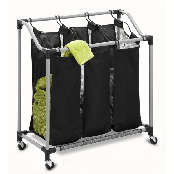 Honey-Can-Do Elite Triple Laundry Sorter