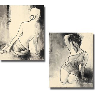 Lanie Loreth 'Figurative Woman I and II' 2-piece Canvas Art Set