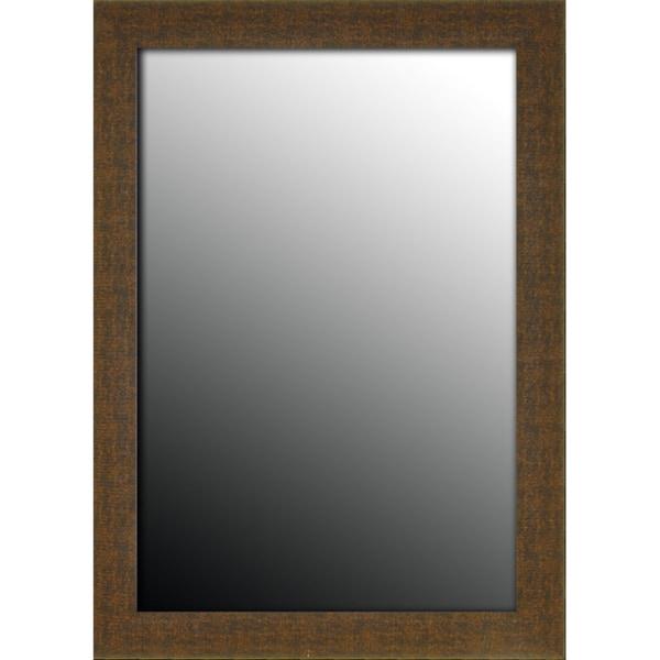 27x37 Roman Copper Bronze Chain Mirror