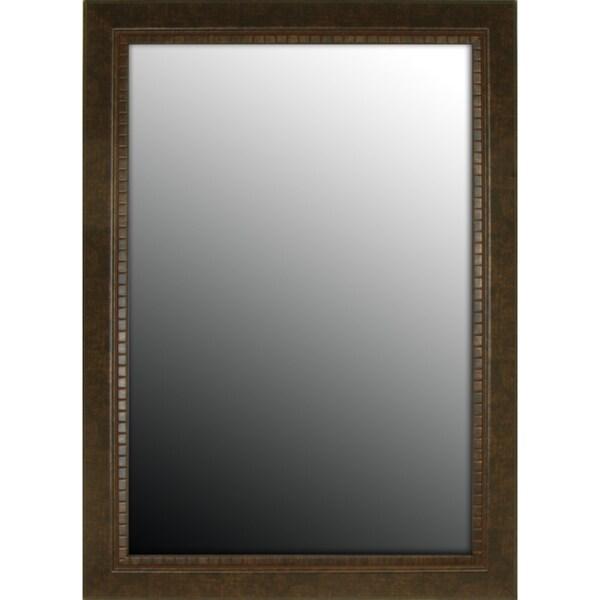36x46 Tuscan Copper Bronze Petite Mirror
