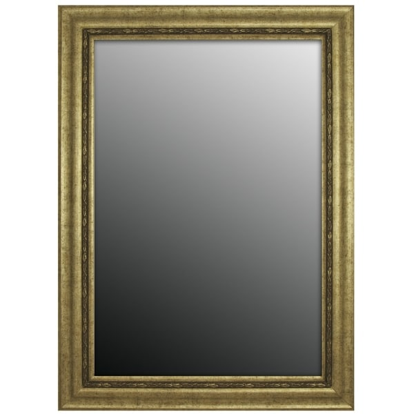 shop hitchcock butterfield rosario classic large silver traditional mirror 30 5 w x 42 5 h. Black Bedroom Furniture Sets. Home Design Ideas