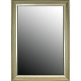 30x42 Stepped Silver Petite Mirror