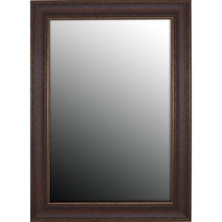 28x38 Copper Embossed Bronze Mirror
