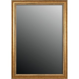 28x40 Grecian Beaded Sun Gold Mirror