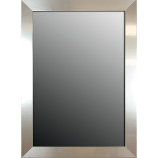 Stainless 37- x 27-inch Mirror