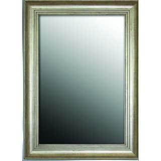 Louis XIV French Silver Gold tone 31 x 43 Mirror