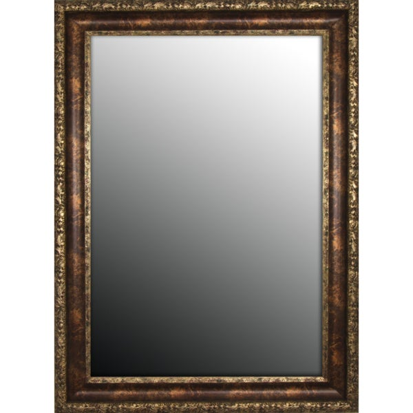 Austrian Decor Coppertone Finish 19x37-inch Mirror