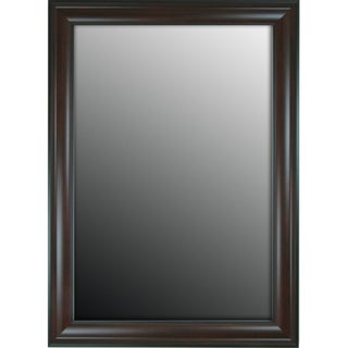 Furniture Fashioned Mahogany Finish 17x35-inch Mirror