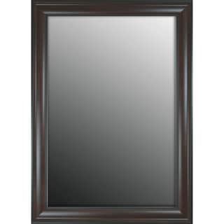 Furniture Fashioned Mahogany Finish 26x36-inch Mirror