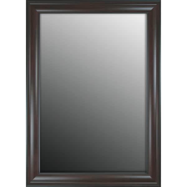 Furniture Fashioned Mahogany Finish 26x36-inch Mirror