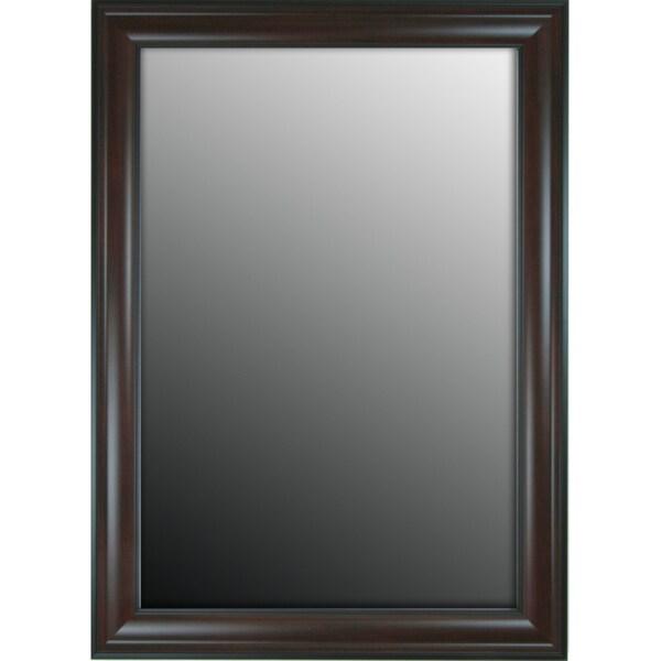 Furniture Fashioned Mahogany Finish 29x41-inch Mirror