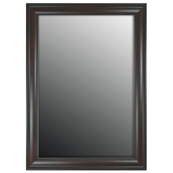 """Hitchcock Butterfield Regal Manor II Large Espresso Traditional Mirror - Brown - 29""""w x 65""""h"""