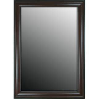 Furniture Fashioned Mahogany Finish 29x65-inch Mirror