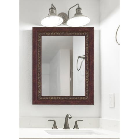 Hitchcock Butterfield Williamsburg Large Cherry Traditional Mirror
