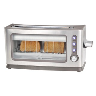 Kalorik Stainless Steel Glass Toaster