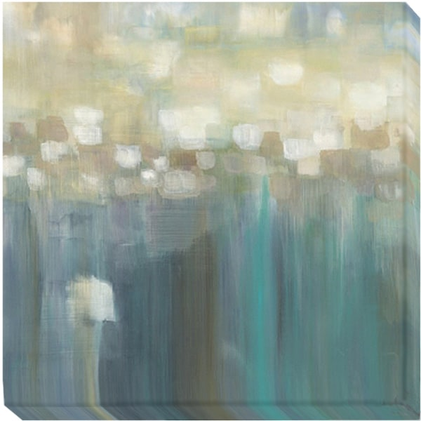 Karen Lorena Parker 'Aqua Light' Canvas Art