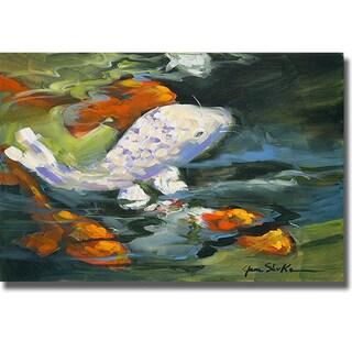 Jane Slivka 'Koi' Canvas Art