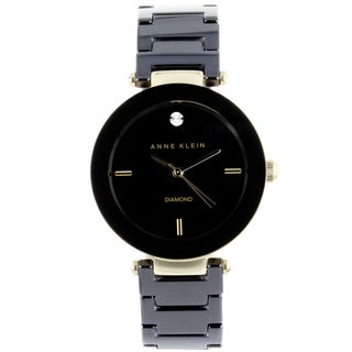 Anne Klein Women's Steel and Ceramic Watch