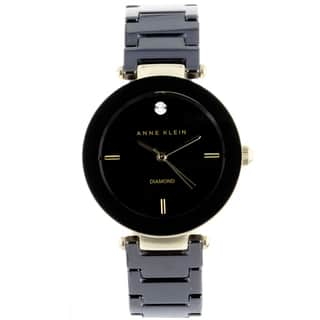 Anne Klein Women's Steel and Ceramic Watch|https://ak1.ostkcdn.com/images/products/7555094/P14987041.jpeg?impolicy=medium