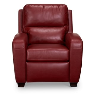 Brice Bonded Leather Recliner  sc 1 st  Overstock.com & Red Recliner Chairs u0026 Rocking Recliners - Shop The Best Deals for ... islam-shia.org
