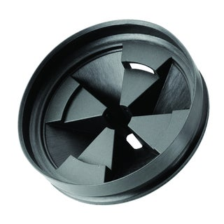 Antimicrobial Quiet Collar Sink Baffle