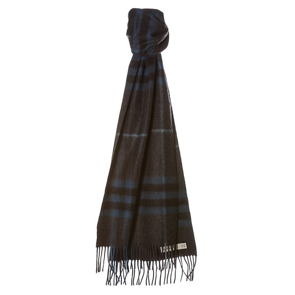 Burberry '3826755' Giant Check Cashmere Scarf