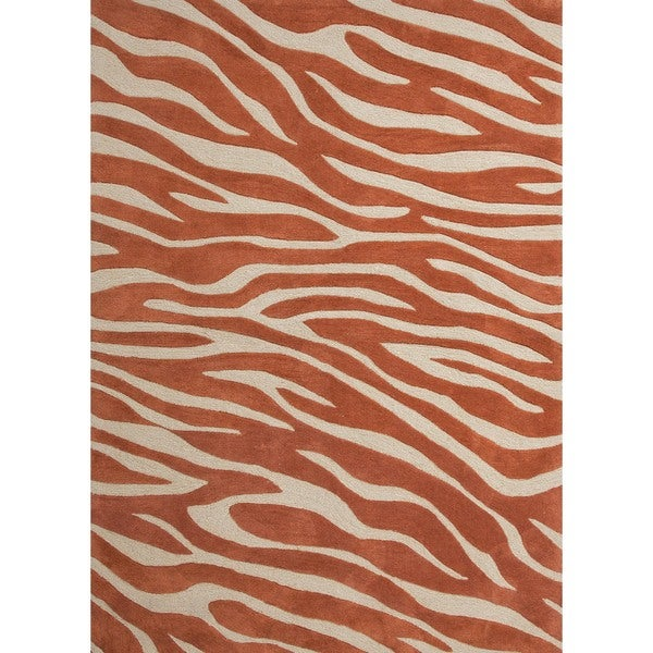 Modern Animal Print Tufted Rug (3'6 x 5'6)