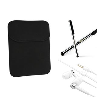 INSTEN Sleeve/ Stylus/ Headset for Apple iPad 2/ 3