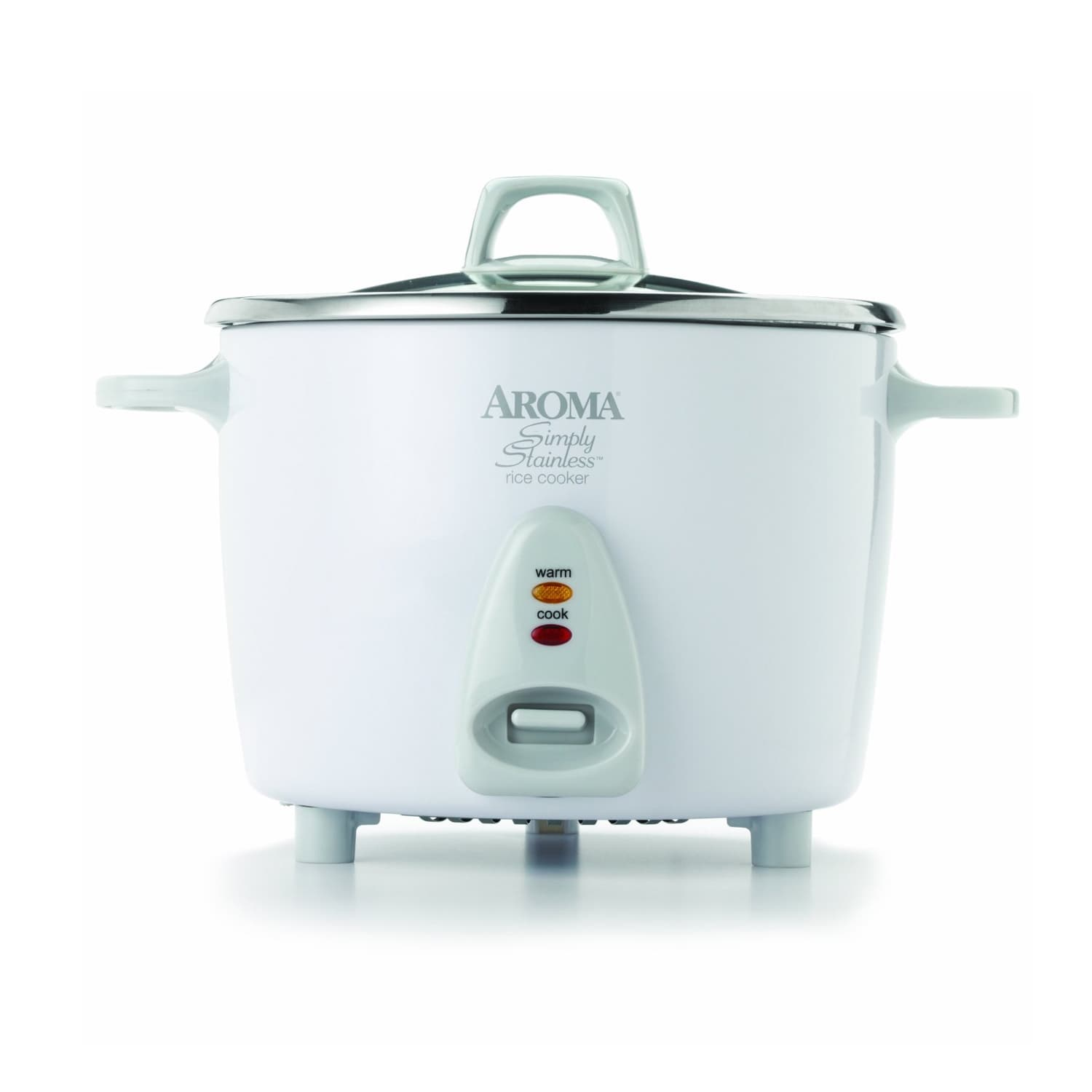 Aroma Housewares 14-cup Simply Stainless Rice Cooker, Sil...