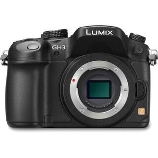 Panasonic Lumix DMC-GH3 17MP Black Mirrorless Digital Camera (Body Only)