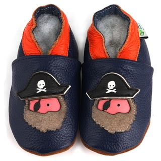 Pirate Soft Sole Leather Baby Shoes