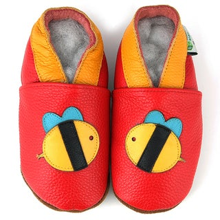 Bumble Bee Soft Sole Leather Baby Shoes