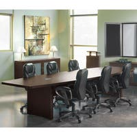 Mayline Aberdeen 12' Boat Shape Conference Table